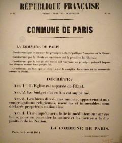 COMMUNE DE PARIS… 1871
