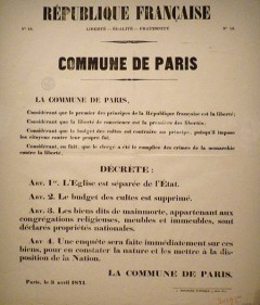 COMMUNE DE PARIS… 1871