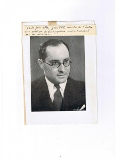 SOUVENIRS ET SOLITUDE – Jean ZAY – Préface de Jean CASSOU – Editions JULLIARD – 1945