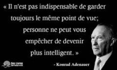 Citation de Konrad ADENAUER