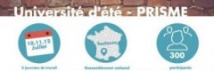 UNIVERSITÉ d'ETE DE PRISME – TOULOUSE  10-11-12 JUILLET 2017